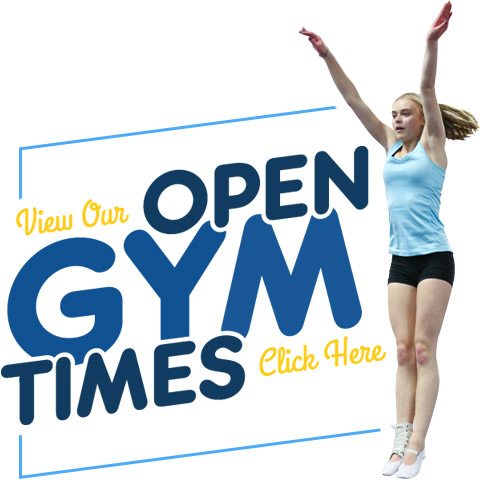 view our open gym times